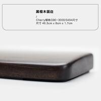 键盘手托风车木黑紫檀机械键盘实木手托腕垫腕托掌托 Cherry-3000 3494 圆边/465mm