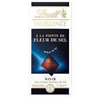 [当当自营] 瑞士进口 Lindt 瑞士莲特醇海盐味黑巧克力100G