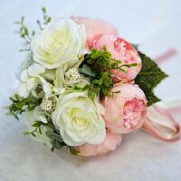 结婚用品 婚礼用品 婚礼现场新娘手捧花 仿真婚礼花束 婚礼装饰 手捧花