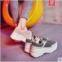 鞋子女抖音同款老爹鞋女潮韩版时尚百搭运动鞋网红女鞋