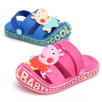 儿童拖鞋夏女 小公主男宝宝小童1-3岁防滑软底