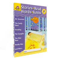 Evan-Moor Stories To Read Words to Know Level F 加州教辅 阅读学词汇系