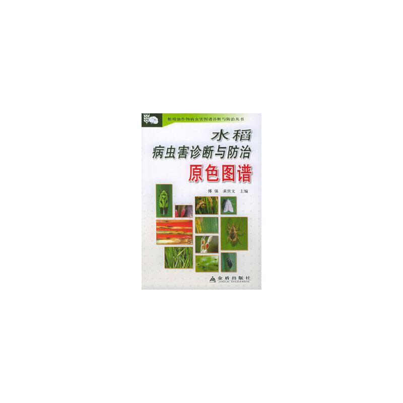 水稻病虫害诊断与防治原色图谱 傅强,黄世文 金盾出版社 正版书籍请注意书籍售价高于定价,有问题联系客服欢迎咨询。