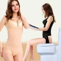 春夏后脱式连体塑身衣女胖mm200斤大码无痕产后收腹提臀美体内衣
