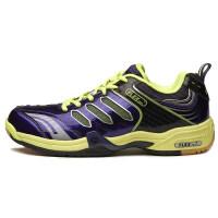 羽毛球鞋男鞋女款超轻透气防滑男士运动儿童训练鞋子 紫色