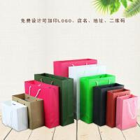 纸袋礼品袋服装袋子购物袋手提袋包装纸袋 抖音