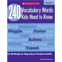 【首页抢券300-100】240 Vocabulary Words Kids Need to Know Grade 2