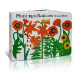 顺丰发货 Planting a Rainbow 种彩虹 Lois Ehlert 吴敏兰123绘本 第88本 将大自然中