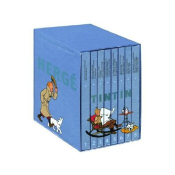 The Adventures of Tintin(Collector's Gift Set)丁丁历险记全集(全8册)9780316006682