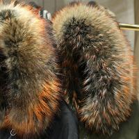 大毛领三穿派克服女2017冬装新款 两件套中长款宽松保暖羽绒服