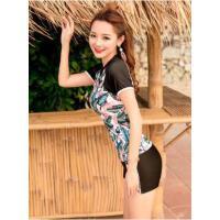 新款泳衣女分体保守显瘦遮肚性感韩国学生小清新泡温泉游泳装