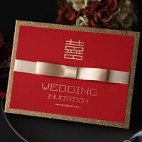 请帖结婚创意2019欧式个性婚宴喜帖照片定制婚礼请柬