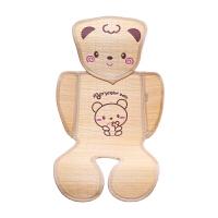婴儿推车凉席坐垫新生儿童宝宝餐椅通用安全座椅夏季透气婴儿竹席 可爱小熊系列 其它