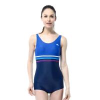 YINGFA英发 女士连体平角泳衣YF1601 女士温泉运动训练显瘦游泳衣