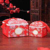 创意欧式喜糖盒子 婚礼喜糖袋结婚喜糖盒婚庆用品喜庆糖盒纸盒