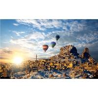 玩具礼物 热气球之旅1000片木质拼图2000唯美风景