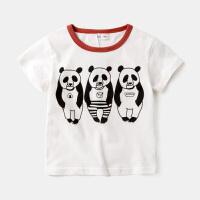 男童T恤 宝宝夏装儿童白色打底衫纯棉儿童短袖上衣儿童夏季潮童装
