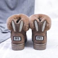 女鞋短筒学生东北短靴棉鞋