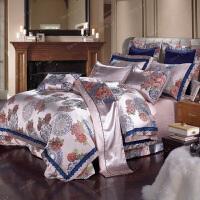 家纺别墅床上用品全棉四件套婚庆十件套双人床品