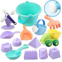 决明子铲子宝宝洗澡戏水玩具儿童沙滩玩具套装玩沙子挖沙漏