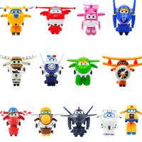 米莉酷雷金刚酷飞3新飞侠玩具套装小号全套8款迷你版变形