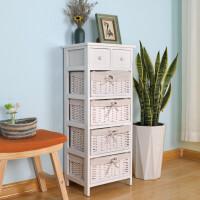 收纳柜实木简约现代客厅斗柜多功能储物抽屉式无视床边小柜子 1个