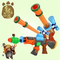 儿童玩具套音乐发光熊出没猎枪宝宝2-3-6岁婴幼男童男孩子
