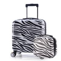 登机子母箱14寸手提箱12寸化妆包迷你拉杆箱小箱旅行箱包行李箱