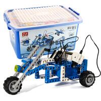 儿童玩具电动机器人模型整套科学实验套装