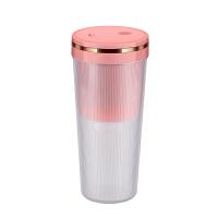 黑桃A便�y式�S身榨汁�C迷你家用多功能果汁�C 粉色