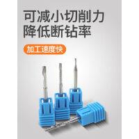 5A台湾SGO进口3.175单刃螺旋铣刀广告雕刻机刀具pvc亚克力雕刻刀