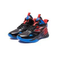 【618折后价:259.35】儿童男童篮球鞋耐磨防滑男童运动鞋跑鞋减震弹力男童运动鞋