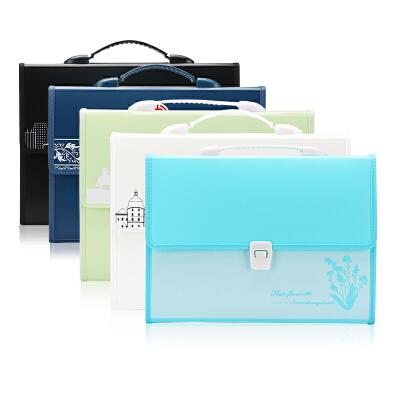 风琴包手提文件包票据包资料收纳袋A4文件夹多层学生试卷夹