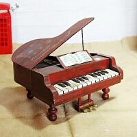 创意礼品民国往事 复古经典钢琴模型 创意家居装饰品 *送朋友生日礼物 36.5*33*34厘米
