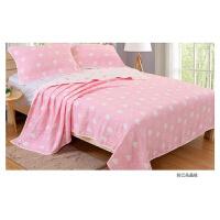 棉毛巾被六层纱布床单单人双人毛巾毯子婴儿童盖毯幼儿园午睡