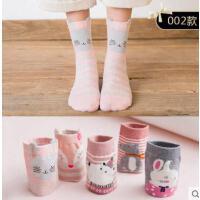 女学生袜子女中筒袜韩国可爱学院风长筒袜卡通圣诞袜户外新品