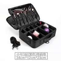 化妆箱 专业化妆包美甲大容量收纳专业手提便携化妆箱工具多层双开万向轮化妆盒