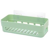 卫生间置物架壁挂浴室吸壁式厕所收纳架吸盘洗漱台免打孔用具用品 3个(粉+蓝+绿)