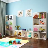 实木宝宝书柜书架儿童收纳柜玩具收纳架玩具柜玩具架置物架整理架