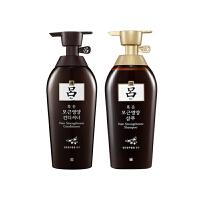 Ryo 吕 棕吕(原黄吕) 防脱固发滋养洗发水+护发素 500克/瓶 2瓶装