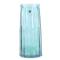 玻璃花瓶摆件客厅插花欧式鲜花百合富贵竹干花小清新透明ins北欧
