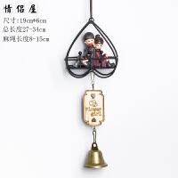 可爱日式龙猫风铃挂饰门饰创意家居饰品女生生日礼物卧室铃铛挂件