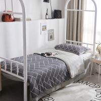 开学季学生宿舍单人床上三件套床单被套学校上下铺被子床垫六件套