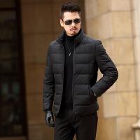 2017新款冬季轻薄羽绒服男士短款修身保暖羽绒服中青年外套男上衣