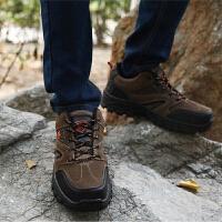 登山鞋男鞋春季户外休闲鞋防滑轻便透气徒步登山鞋耐磨防水防滑旅游鞋