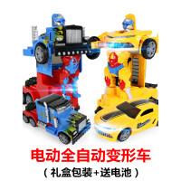 618电动变形玩具儿童汽车金刚机器人大黄蜂3-6岁男孩女孩六一礼物