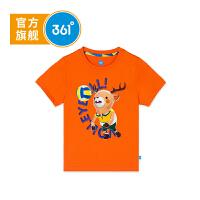 【线下同款】361度童装男童短袖T恤2018年夏季新款儿童衣服K51833201