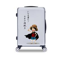 拉杆箱 男女士卡通万向轮拉杆箱2019年新款防水透气耐磨大学生个性旅行箱
