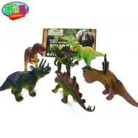 哥士尼小号恐龙玩具套装塑胶侏罗纪动物霸王龙暴龙环保恐龙模型