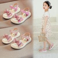 女童�鲂�公主�底�和�鞋小孩女孩中大童夏季沙�┬�